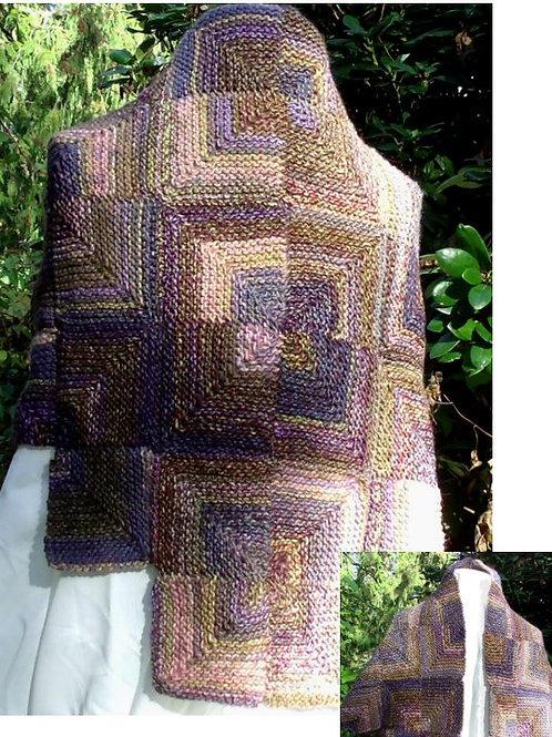 Mitered Knit Shawl (knit)