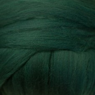 "Merino solid dyed top - ""Tartan"""