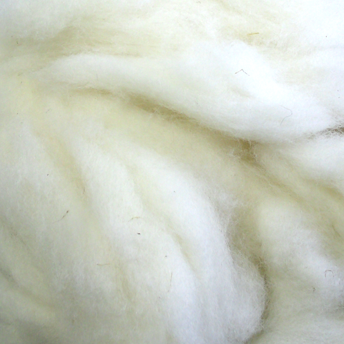 "Border Leicester wool roving, ""Winnie"""