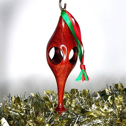 African Padauk Ornament 10