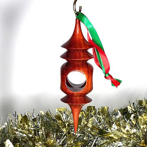 African Padauk Ornament 2
