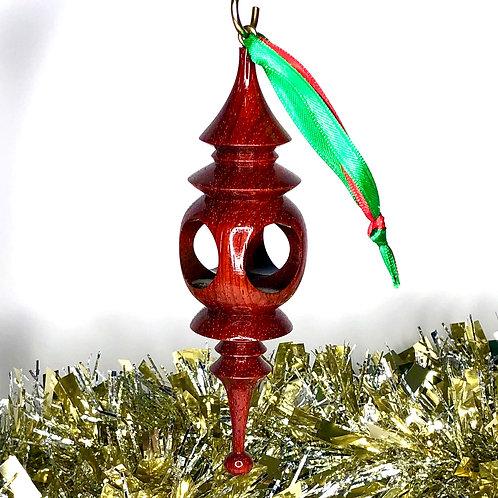 African Padauk Ornament 6