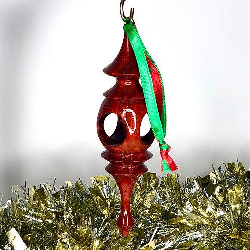 African Padauk Ornament 1