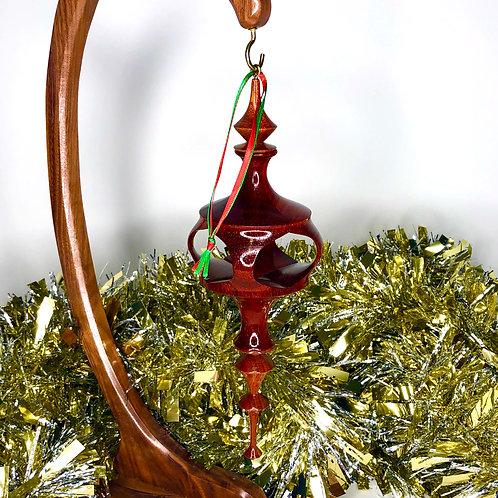 African Padauk, Mahogany Ornament