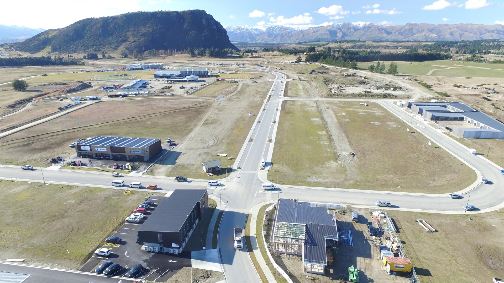 Aerial View of Sir Tim Wallis Drive