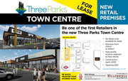 Three Parks Retail Building - FOR LEASE