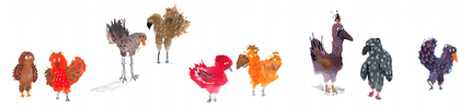 Scruffy Birds