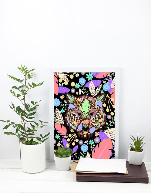 A4 Print - Tiger
