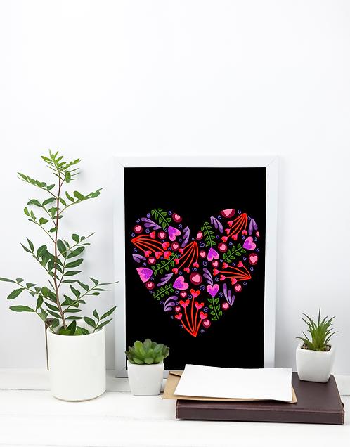 A4 Print - Heart