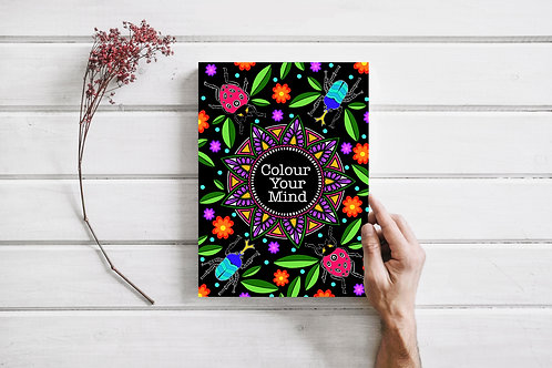 Colour Your Mind - Colouring book