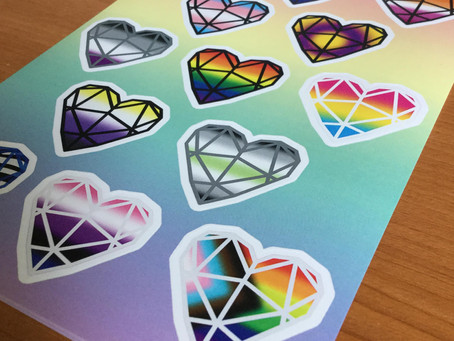 New In: Pride Stickers