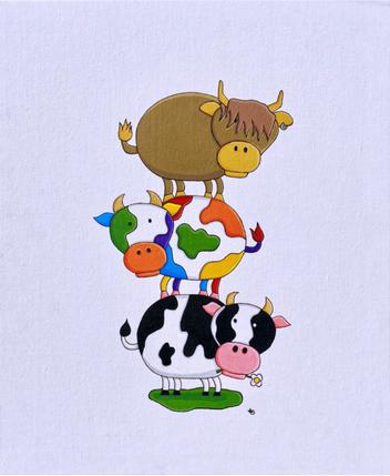 Pride Cows
