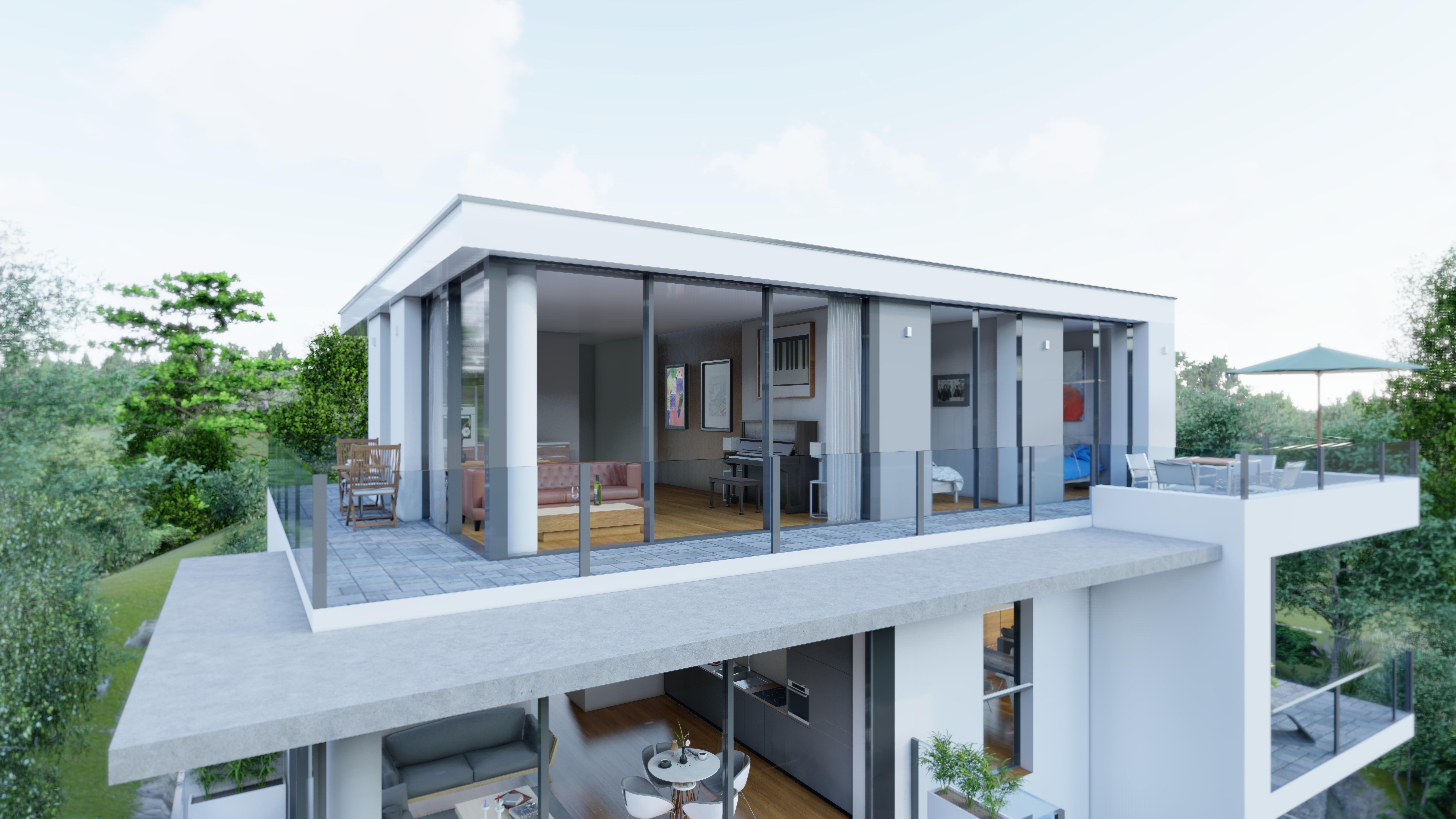 Mehrfamilienhaus Penthouse