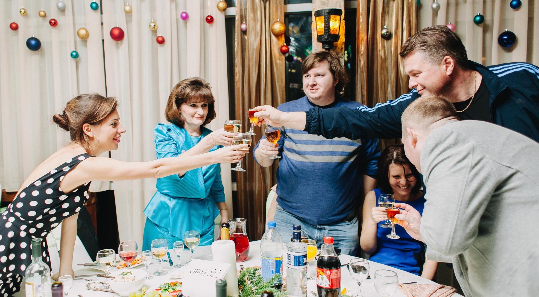 Заказать праздник на новый год в СПб