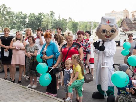 Торжественное открытие новой клиники МедиС в городе Никольское
