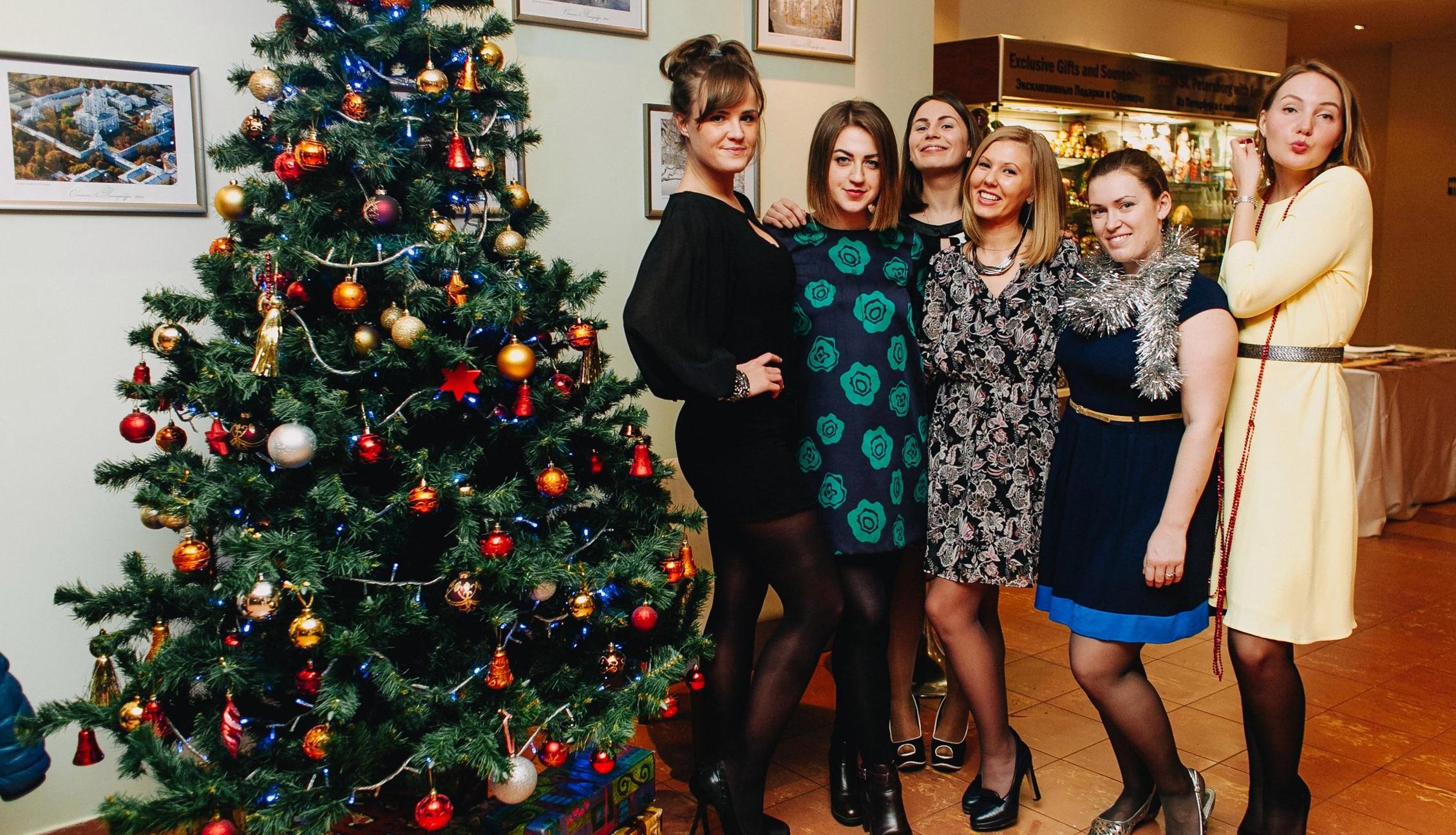 Отметить новый год СПб