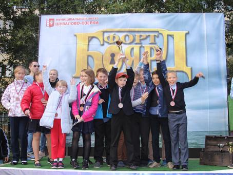 Квест Форт Боярд - веселый и активный детский праздник для детей