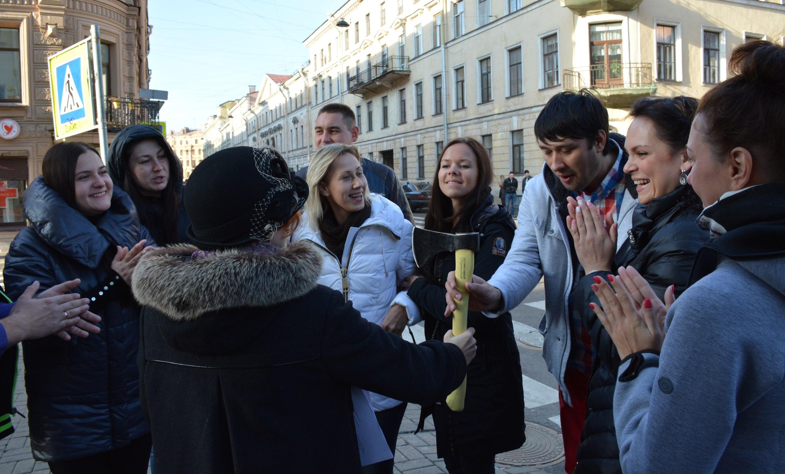 Квест Петербург