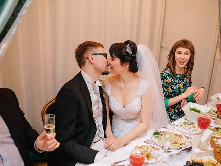 Прекрасная свадьба Антона и Марии