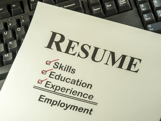Action verbs that will improve your resume