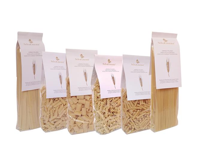 Selezione di pasta artigianale - 12 confezioni