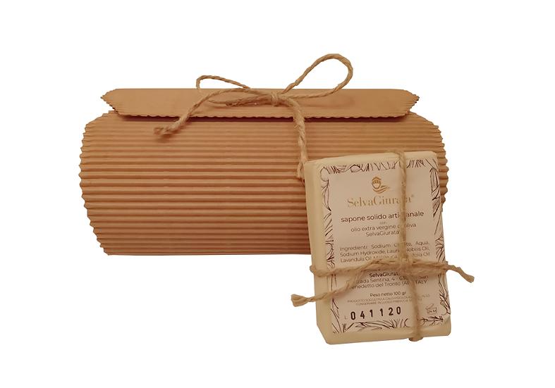 Sapone artigianale | 100% Olio Extra Vergine di Oliva - 4 pezzi