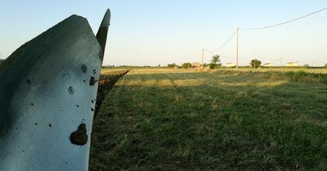 lavorazione del campo: solco aratro