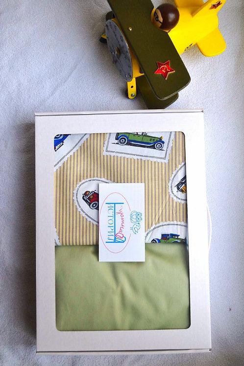 Упаковка в картонный чемоданчик