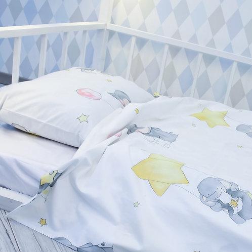 Комплект постельного белья «Дружба», сатин