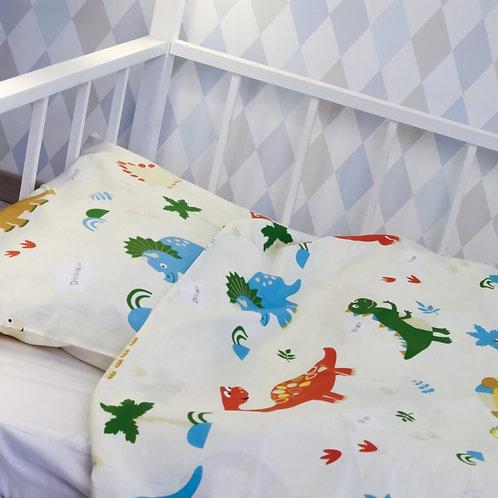 Комплект постельного белья «Динозавры», сатин