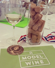 Won 3rd place for Best Creative Wine Model