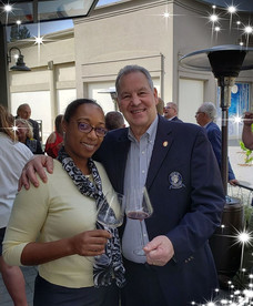 I met Fred Dame, MW in Napa who conducted a great tasting on French library Wines dating back from 1971