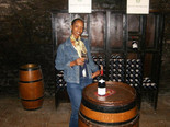 One of my trip to Burgundy at a wine happy hour