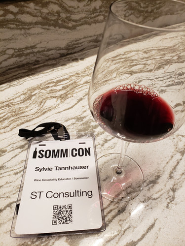 Attended SOMMCON, one of the best Sommelier Conference in the US