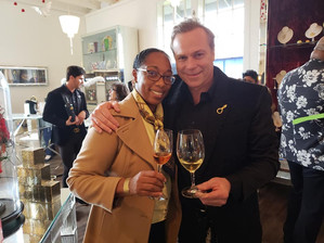 Always enjoy meeting Jean-Charles Boisset, French American Vintner and Owner of the Boisset Collection