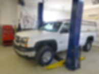 All vehicles are safety inspected and repaired as needed.