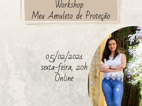 Workshop Meu Amuleto de Proteção