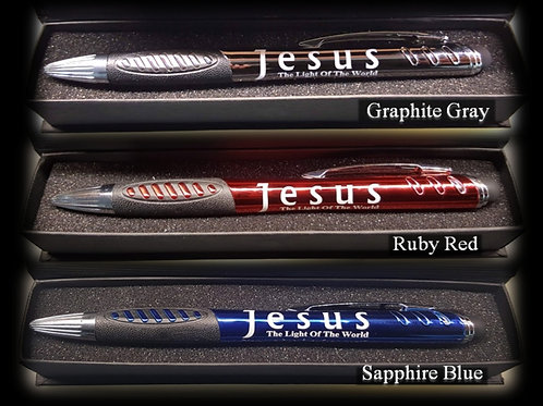 The Jesus Pen - You get 3 pens in 3 colors boxed set