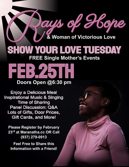 Rays of Hope - Show Your Love Tuesday.jp