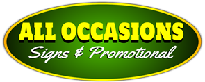 All Occasions Signs & Promotionals