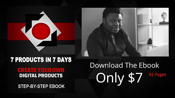 Product Mastery -7 Products In 7 Days