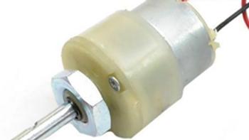 12V DC Geared Motor (center shaft)