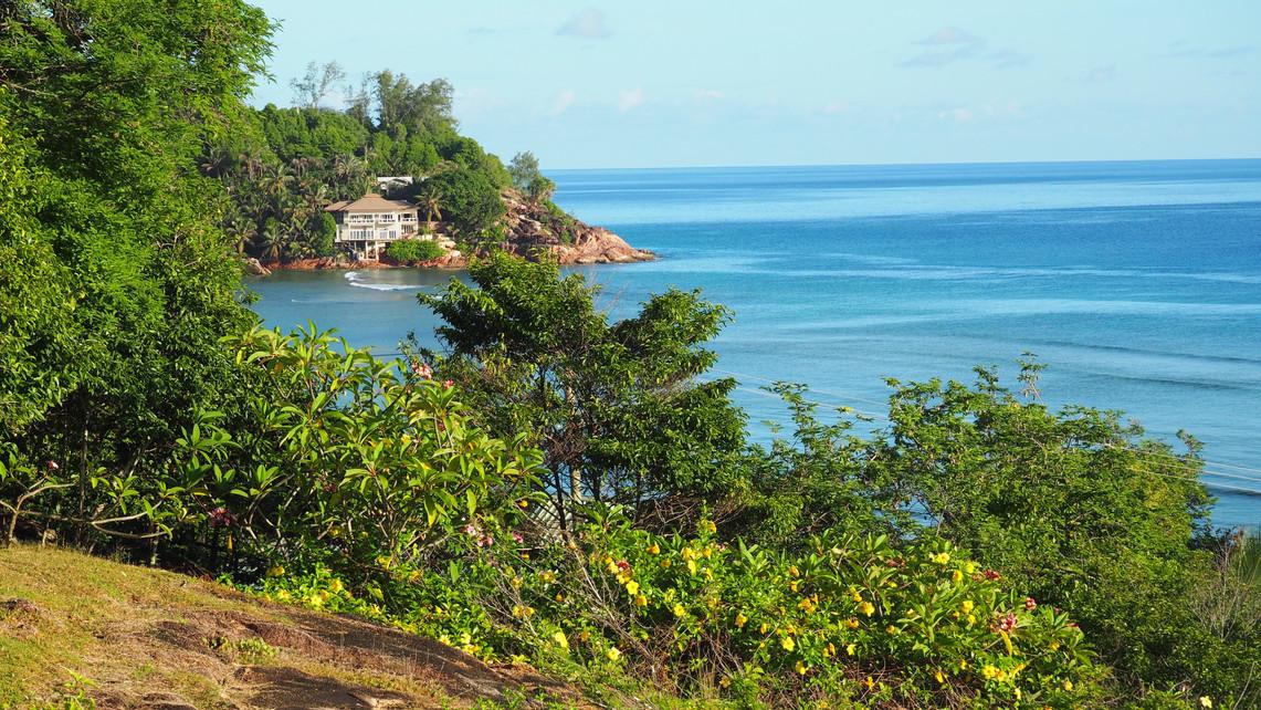View accross Anse La Blague