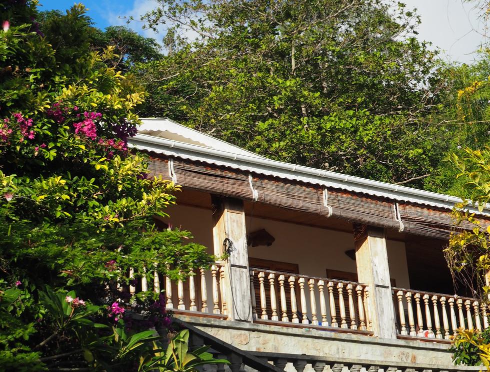 Exterior front view of Bijou villa
