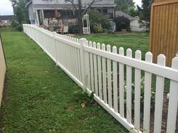 Vinyl Fences Neel's Fence Co. Bridge