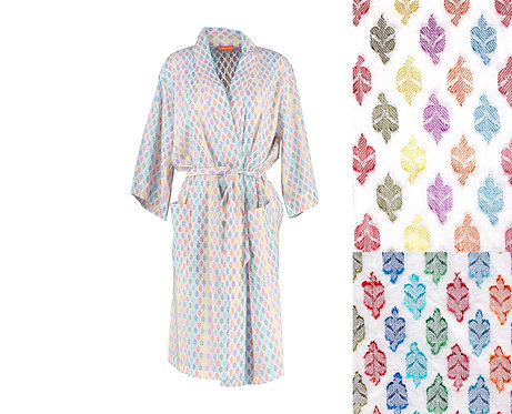 Jacquard Woven Dressing Gown