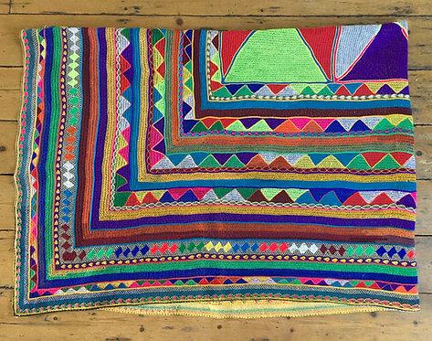 Tribal Heavily Embroidered Wedding Ralli