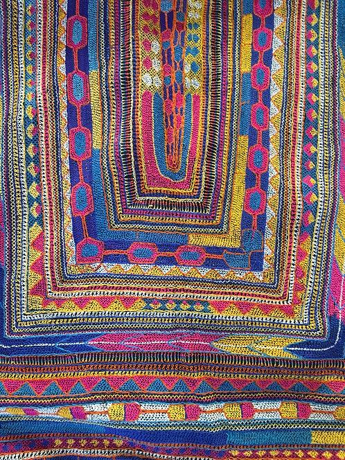 Embroidered Vintage Wedding Ralli -Pakistan