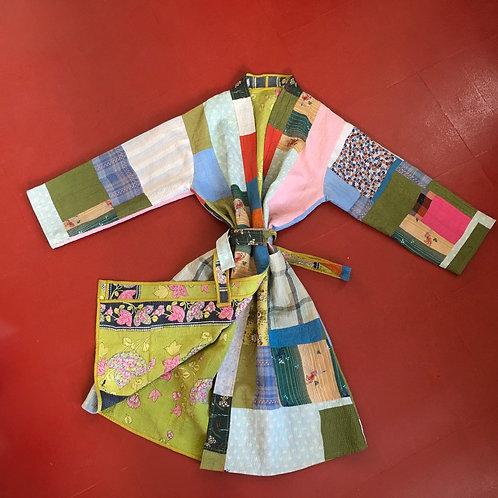 Kantha Robe - Multi Colour Patchwork