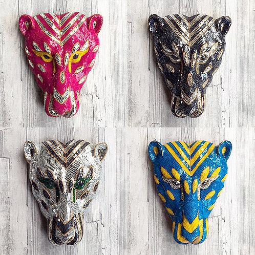Amazing Leopard Mirror Masks